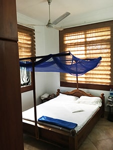 Friendly Gecko guesthouse Tanzania Bedroom